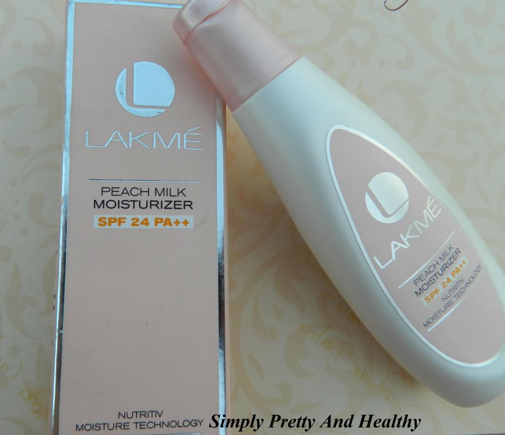 Lakme Peach Milk Moisturizer SPF 24 PA++
