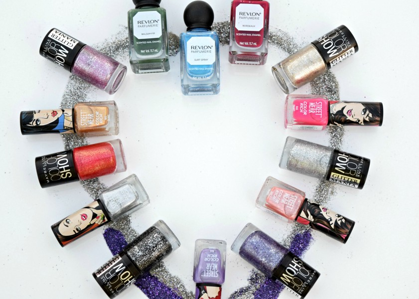 New In- Nail Paints