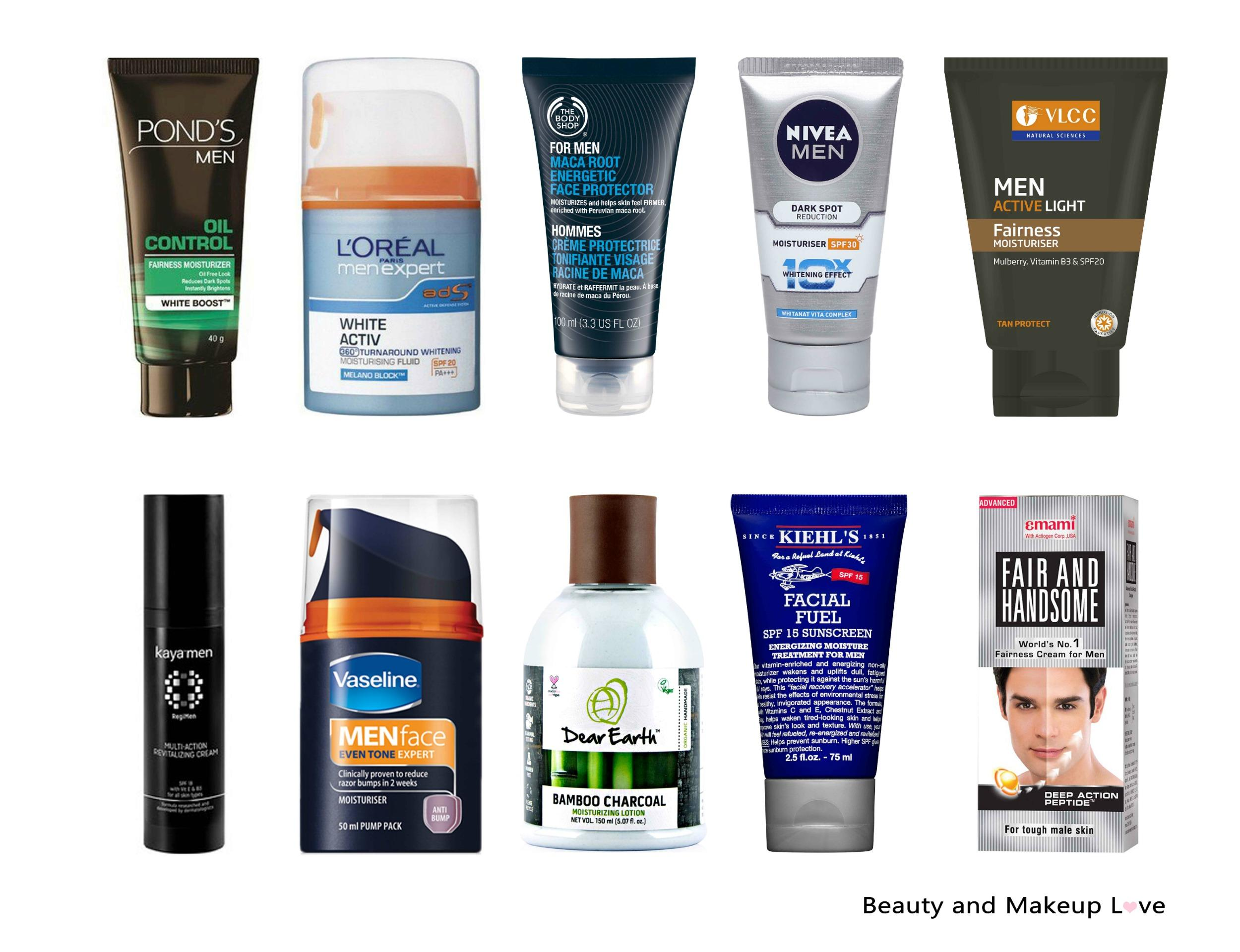 Best face Creams and Moisturizers for Men