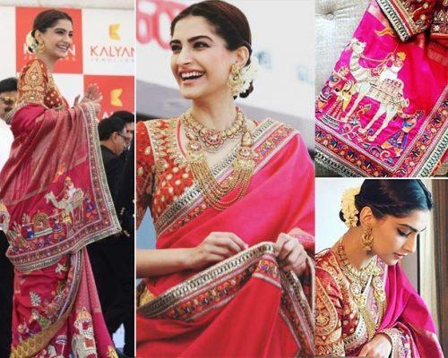 sonam-kapoor-diwali outfit inspiration