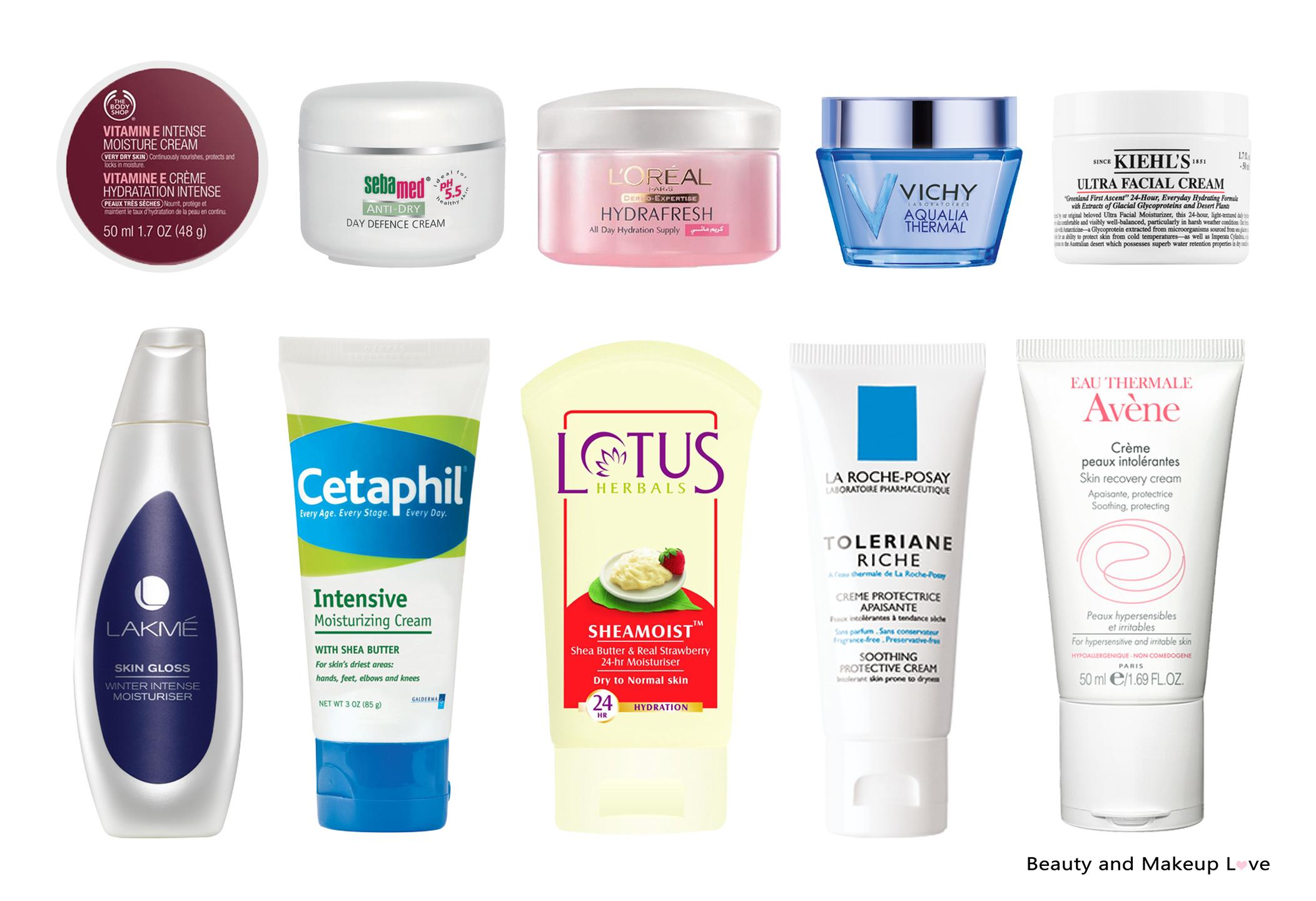 skin products for dry skin