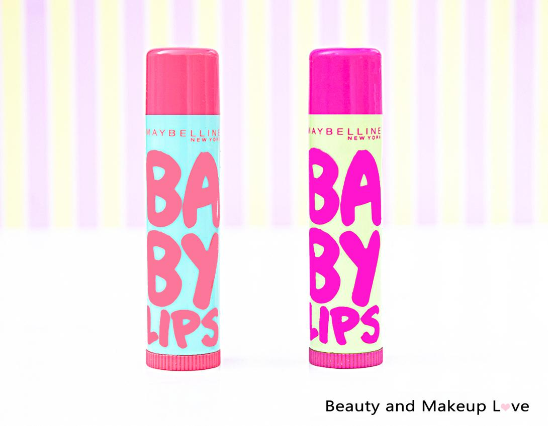 Maybelline Baby Lips Lip Balm Watermelon Smooth and Lychee Addict