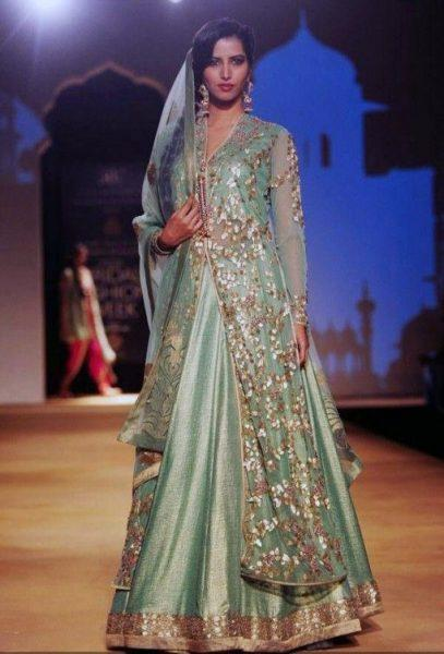 jacket-style-bridal-lehenga