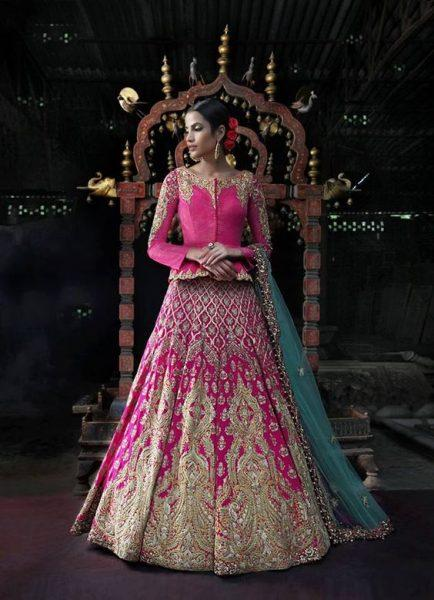 Latest Bridal Lehenga Designs