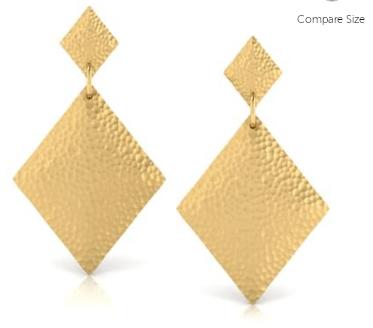 Carat Lane Gold Earrings