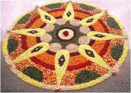 Latest Rangoli Designs 2017