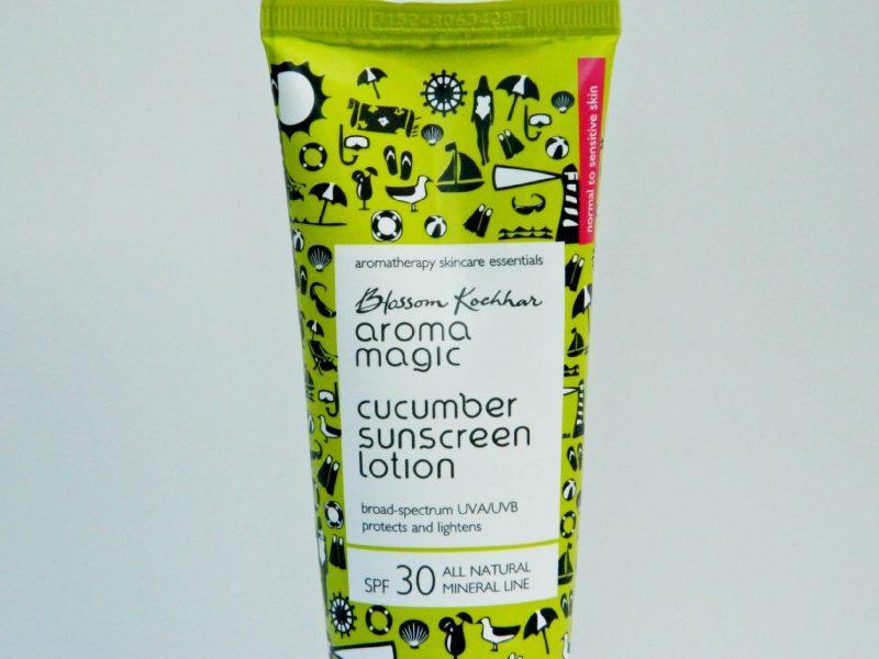 Aroma Magic Cucumber Sunscreen SPF 30 Review