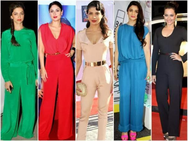 a31cb8e07c8 Bollywood Actress in Jumpsuits