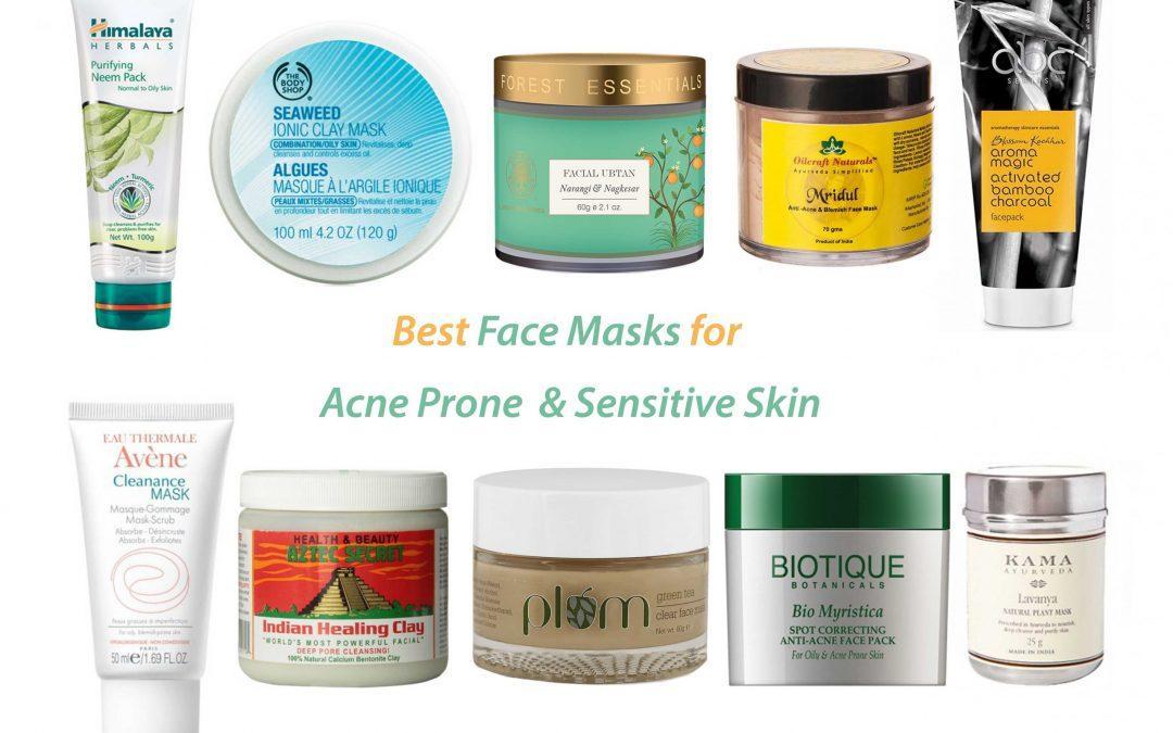 Best Face Masks for Acne Prone & Senstive Skin