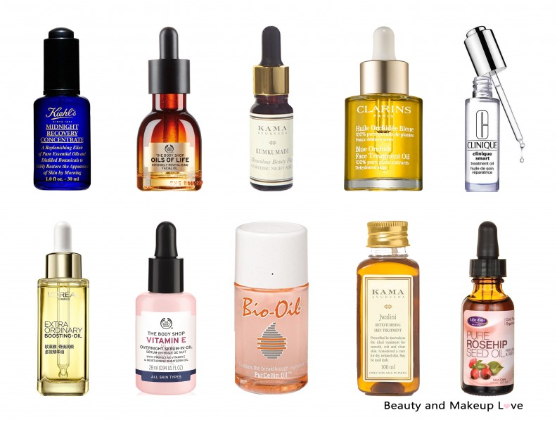 Best facial Oils in India