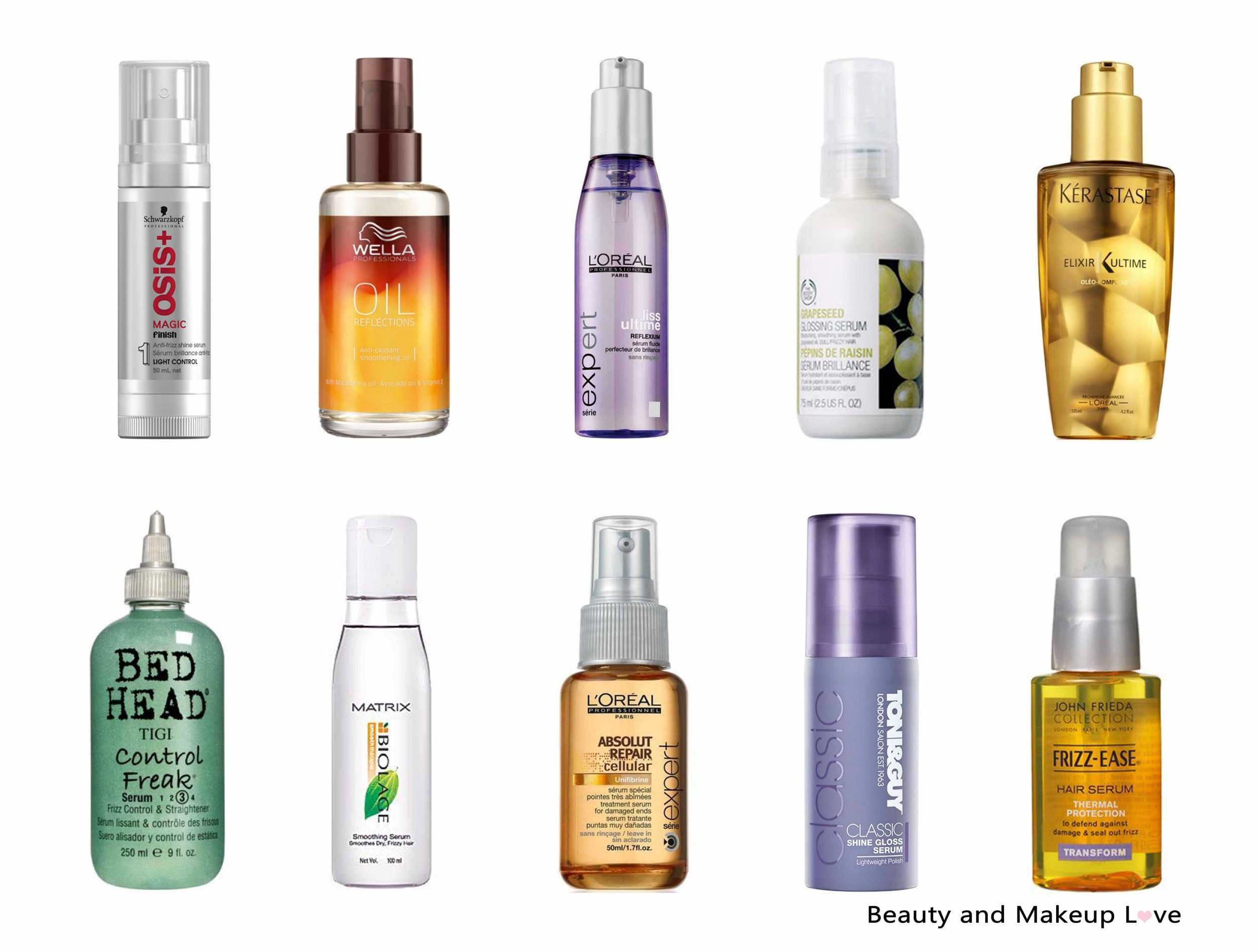Best Serum for Dry, Frizzy Hair in India: Our Top 10!