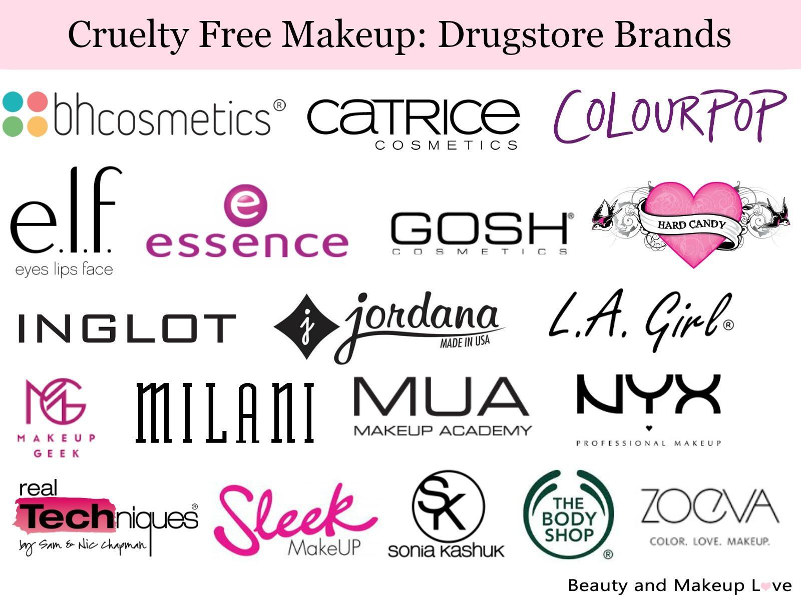 Cruelty Free Brands Makeup Skin Care