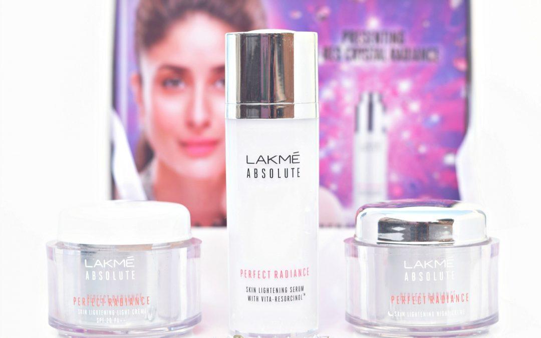 Lakme Absolute Perfect Radiance Range: Serum, Light Cream & Night Cream Review