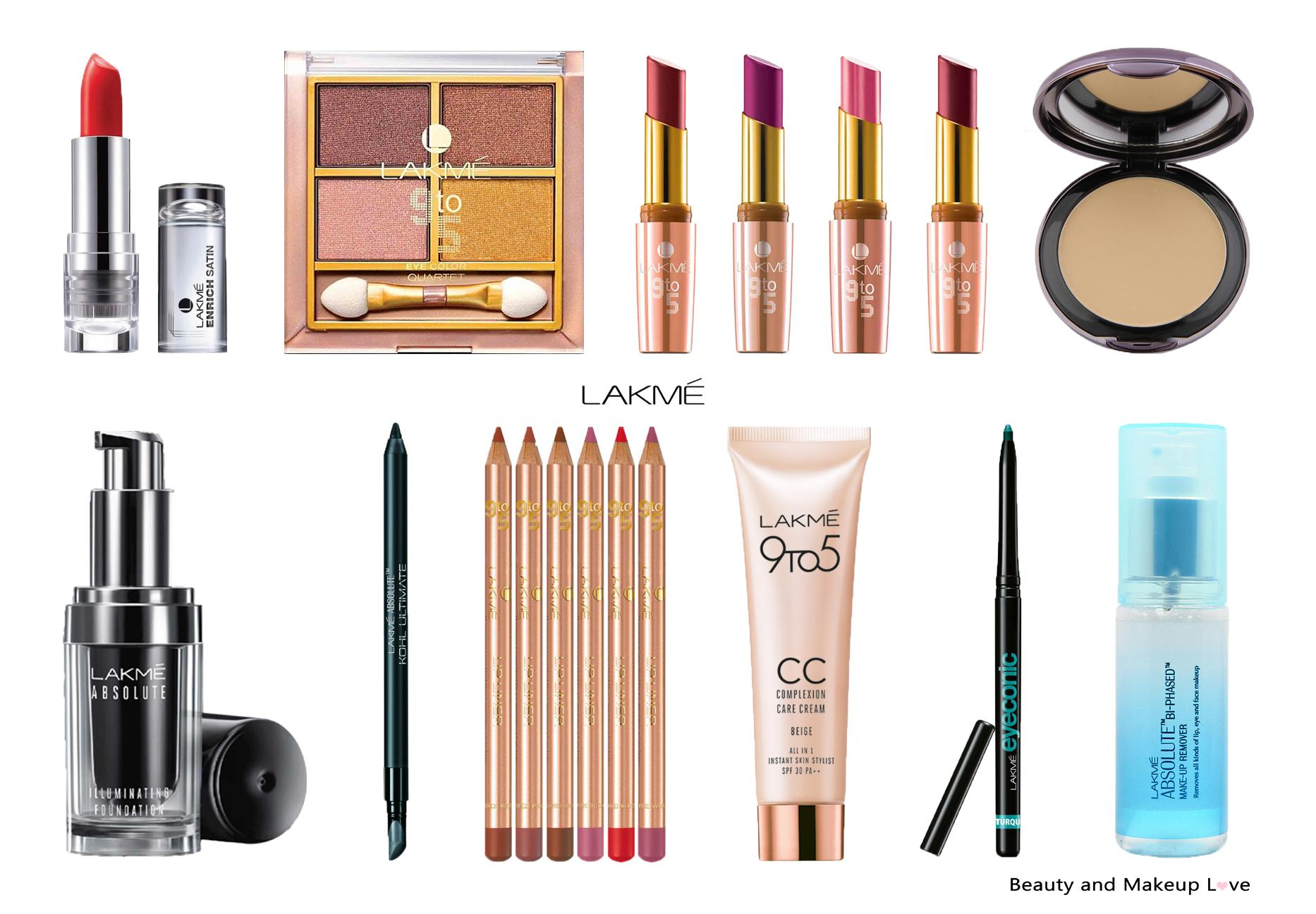 Top 20 Lakme Makeup Products In India Mini Reviews & Prices
