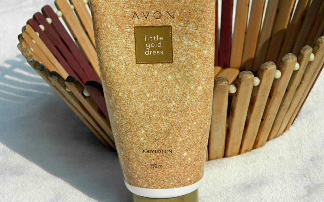 Avon Little Gold Dress Body Lotion Review