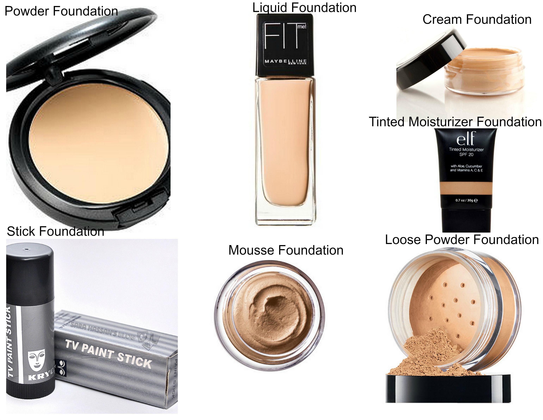 Types Of Foundations Makeup Saubhaya