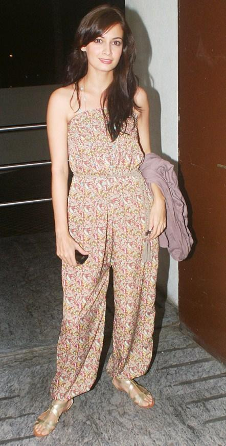 Diya Mirza in Jumpsuit